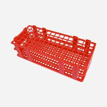 Gradilla Roja 90 tubos