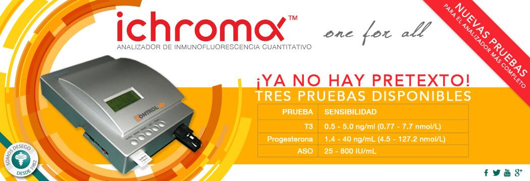 iChroma-Nuevas Pruebas
